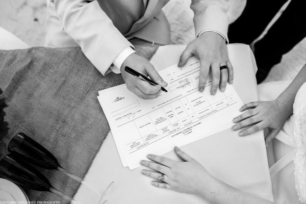 Wedding License - photo by Leonardo Melendez