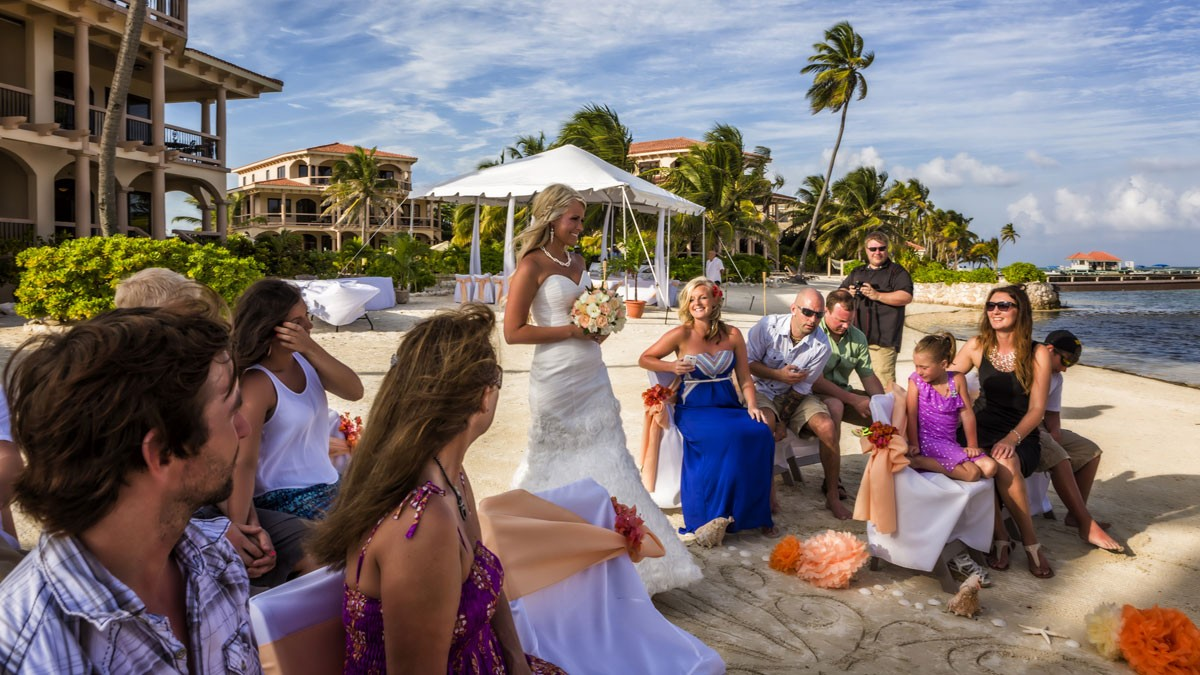 Belize Beach Wedding Resort Coco Jose Luis Zapata
