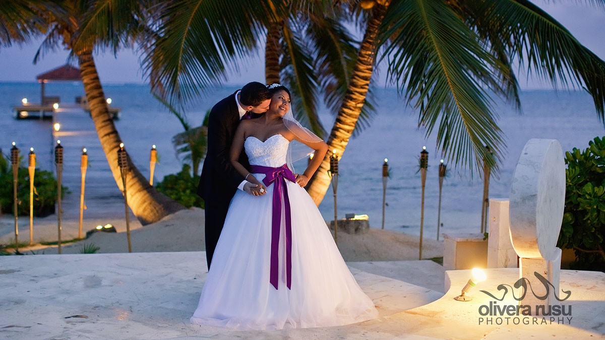 belize wedding belizean cove estates olivera rusu