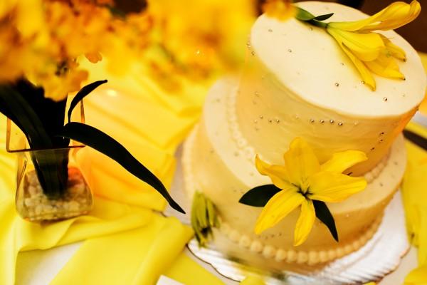 Wedding Cake included in your Belize Wedding - photo by Leonardo Melendez