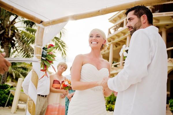 Belize Wedding Coco Beach Resort Sandy Point Weddings - Leonardo Melendez