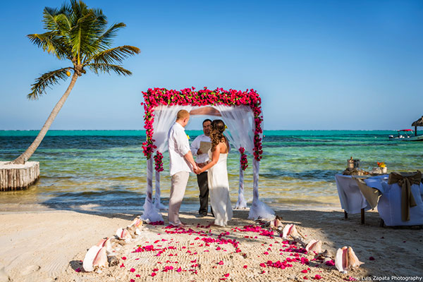 Just the Two of Us Wedding in Belize - photo by Jose Luis Zapata