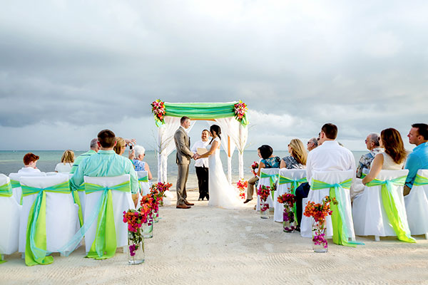 Tropic Breezes Wedding Sandy Point Resorts Jose Luis Zapata