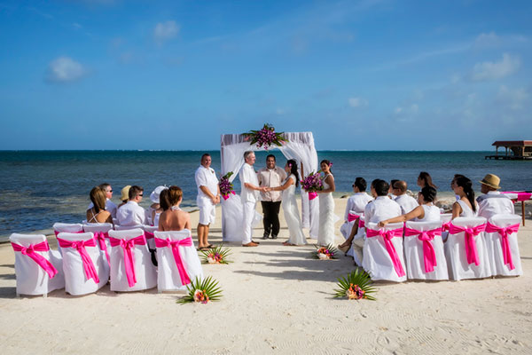 Tropical Breezes Wedding in Belize Jose Luis Zapata