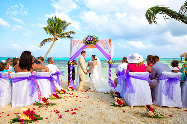 Tropical Breezes Wedding in Belize Sandy Point Resorts Olivera Rusu