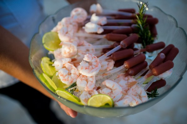 Catering for your wedding in Belize